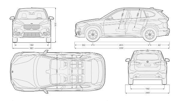 BMW X1: Bmw X1 Blueprint