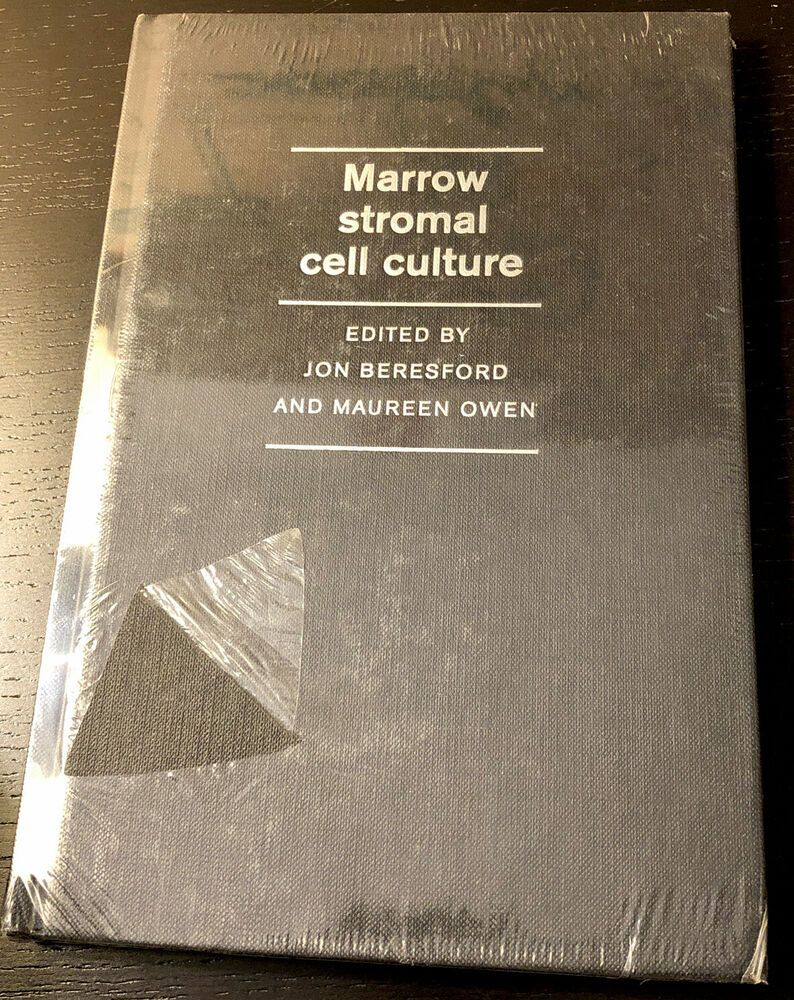 Marrow Stromal Cell Culture by Jon N. Beresford (English