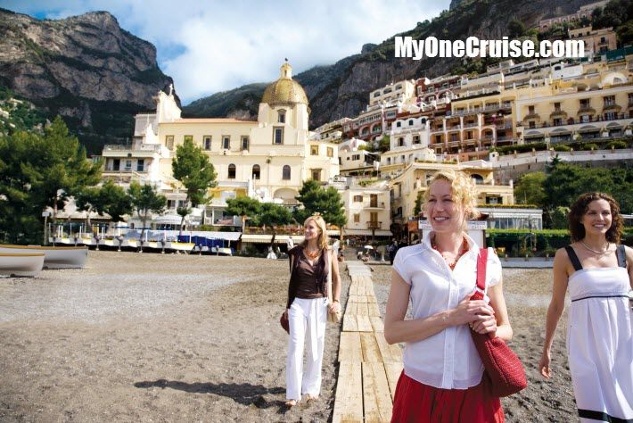 For completely packaged European cruise vacations that include hotel, transfers, and cruise.