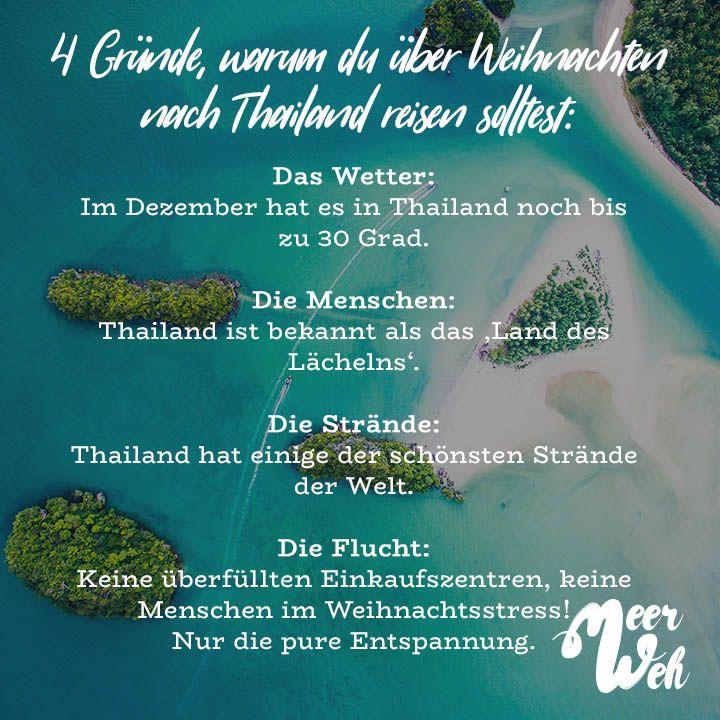4 Gründe, warum du über Weihnachten nach Thailand reisen solltest