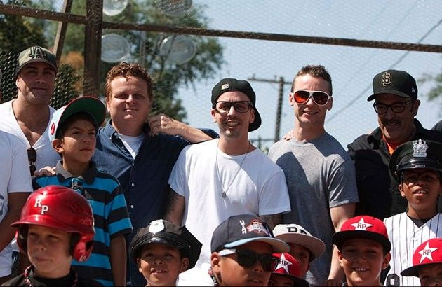 'The Sandlot' Players today celebrating 20 yrs