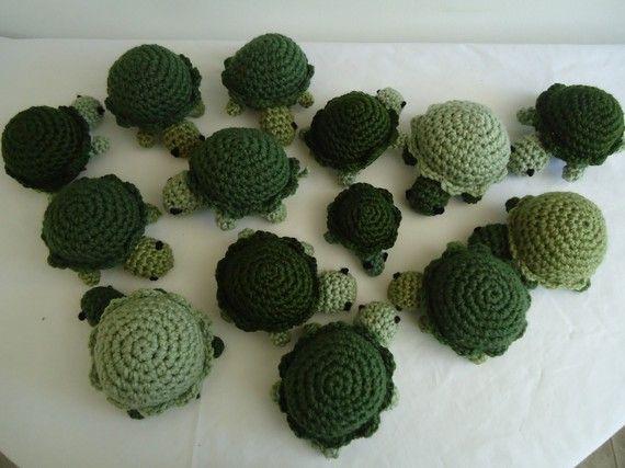 Amigurumi Turtle Pattern : Crochet turtle tiernas amigurumis cuties inspiration
