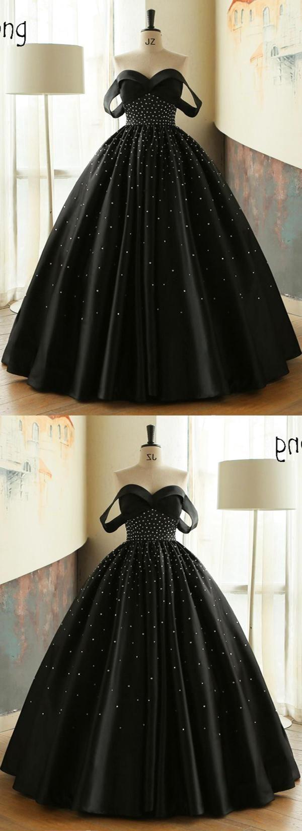 Black pretty qprom beautiful dresses pinterest black