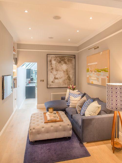 Transitional living room more small tv rooms layout also stunning ideas decorar salon rh co pinterest