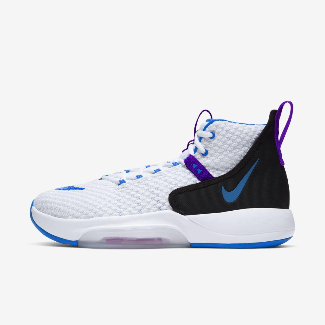Nike Zoom Rize Basketball Shoe White Basketball Shoes Nike Nike Zoom