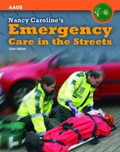 Nancy Caroline S Emergency Care In The Streets Is Like The Bible For Paramedics If Your Are A Paramedic Or Want To Become A Emergency Care Emergency Paramedic