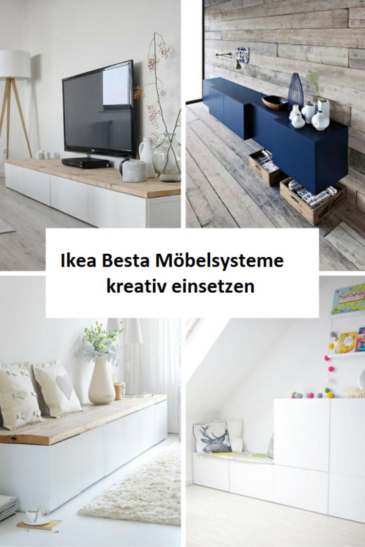 Wohnzimmer ideen ikea besta  Ikea Besta Schrank Sideboards   Home Decor mit DIY   Pinterest ...