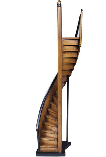 antique architectural miniature model staircases for sale lighthouse staircase model. Black Bedroom Furniture Sets. Home Design Ideas