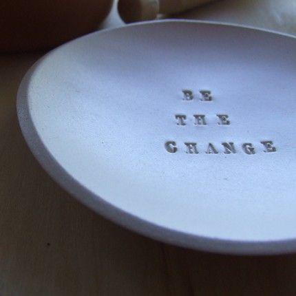 stamped ceramic