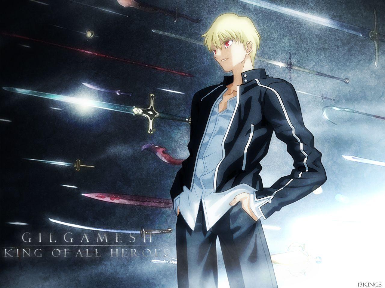Type Moon Studio Deen Fatestay Night Gilgamesh Fate