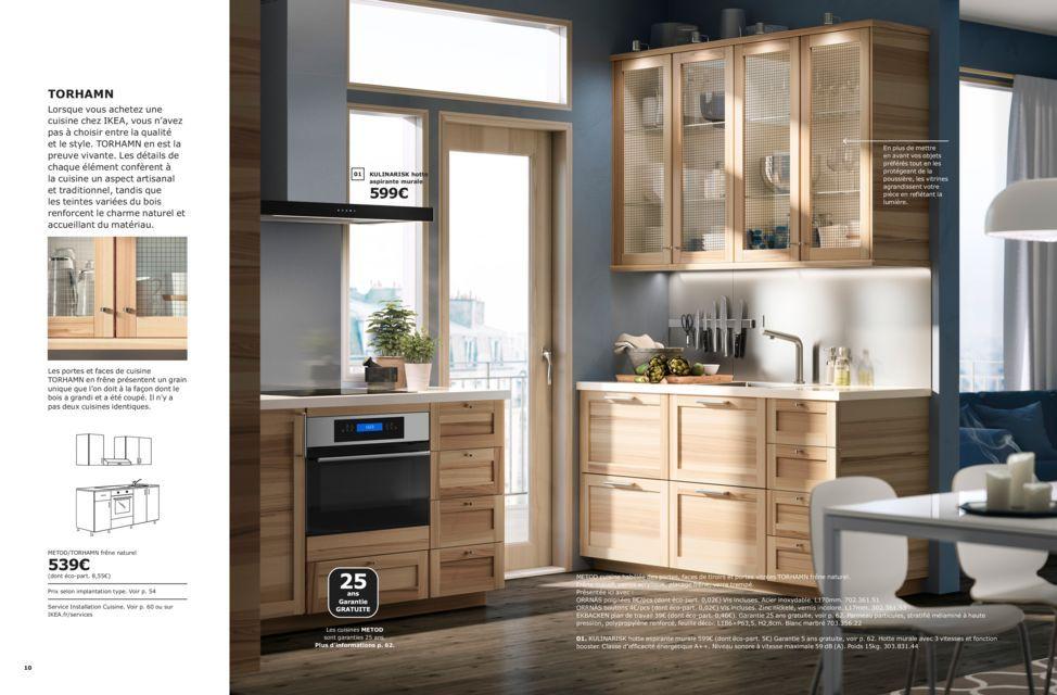 Concue Pour Durer Toute Une Vie Brochure Cuisines Ikea 2019 Meuble Cuisine Salon Maison Et Objet Cuisine Ikea