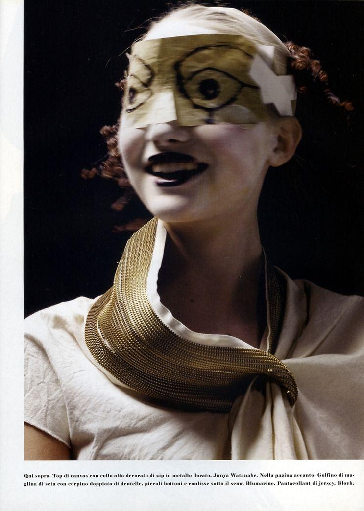 Steven Meisel for Vogue Italia, April 2005