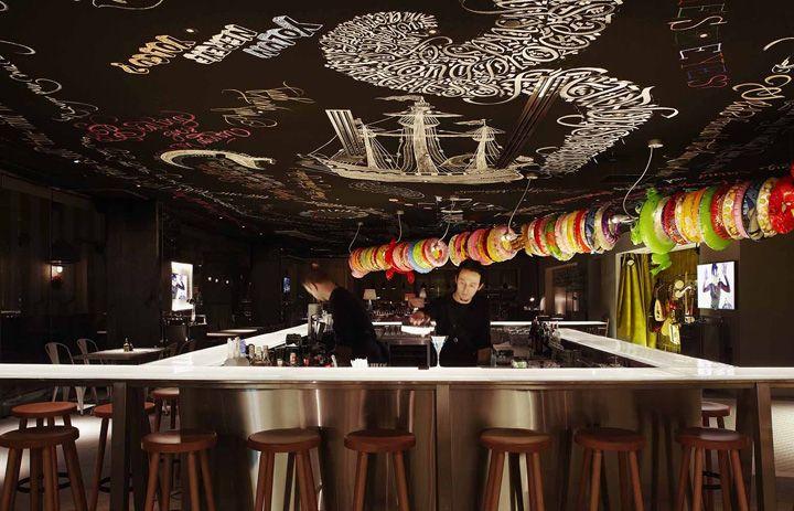 Mama Shelter By Philippe Starck Istanbul Oteller Restoran Istanbul