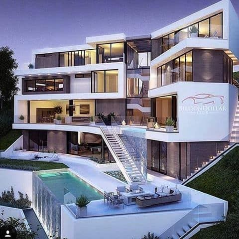Stunning Modern Mansions  Modern Home | Beautiful Homes ...