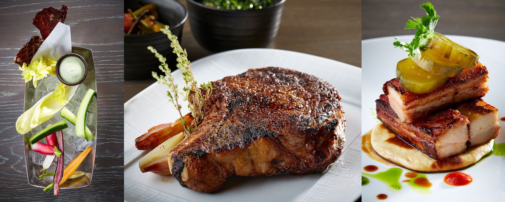 Enjoy The Best Steakhouse In Dallas Knife A New Modern Restaurant By Chef John Tesar At Highland