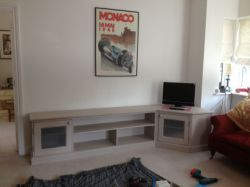 L Shaped Corner Television Unit Tv Stand Cabinets