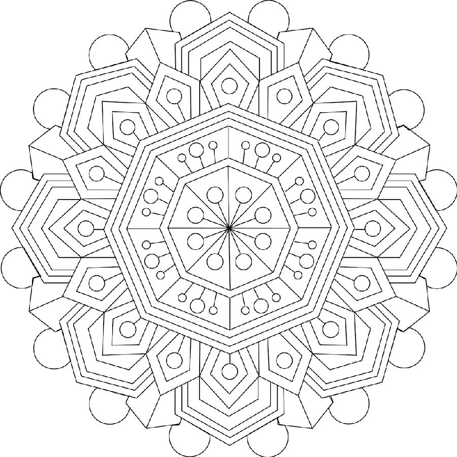 3 Mandalas Para Colorear Una Aficion Muy Relajante Mandalas Para Colorear Libro De Colores Mandalas Pintadas