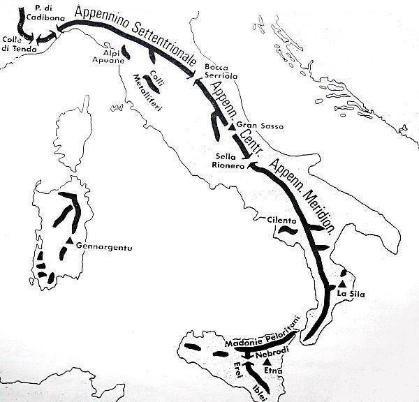 Cartina Dellitalia Alpi E Appennini.Gli Appennini Materiale Didattico Vario Attivita Geografia Geografia Scuola