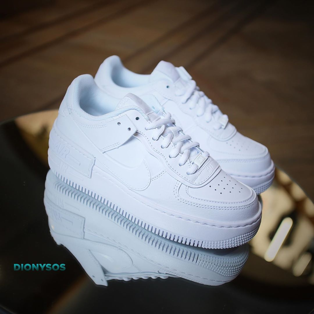 Zapatillas Air Force 1 Shadow Zapatos Nike Blancos Fuerza Aerea Zapatillas Nike Air Force