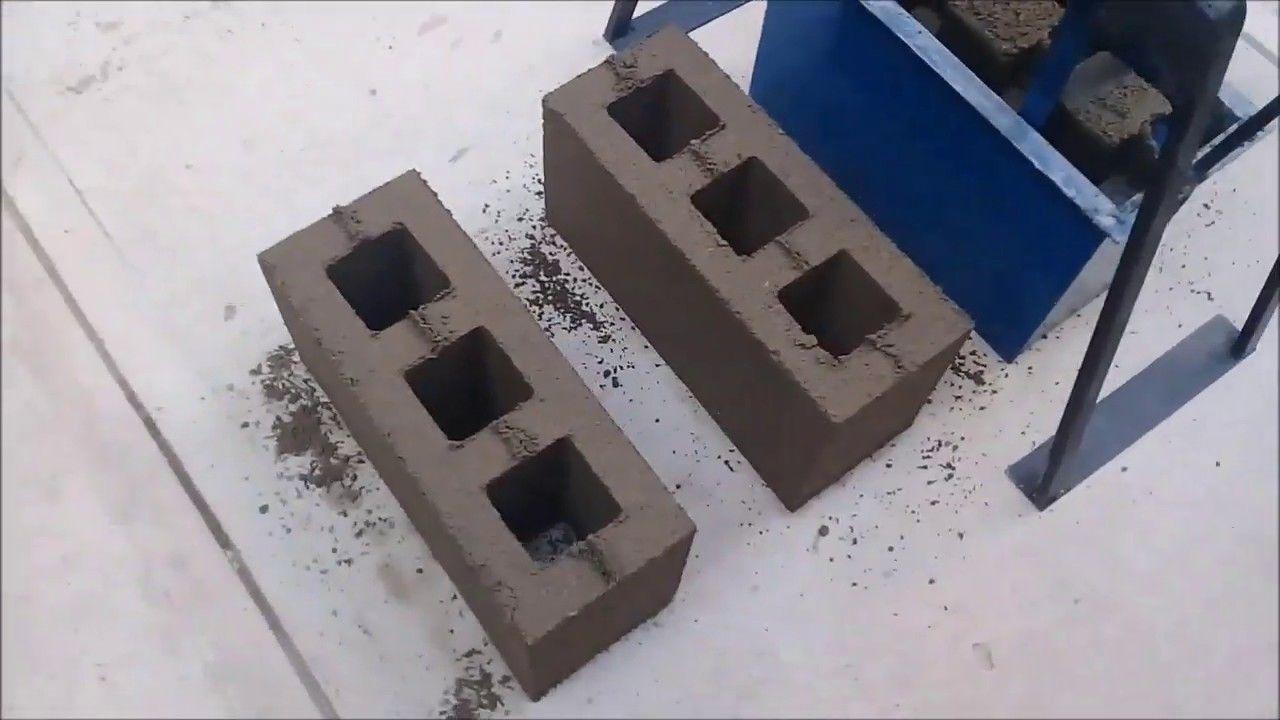 Pin By Luis Antonio Ramirez Medina On Maquinas Ingeniosas Concrete Tools Homemade Tools Concrete Blocks