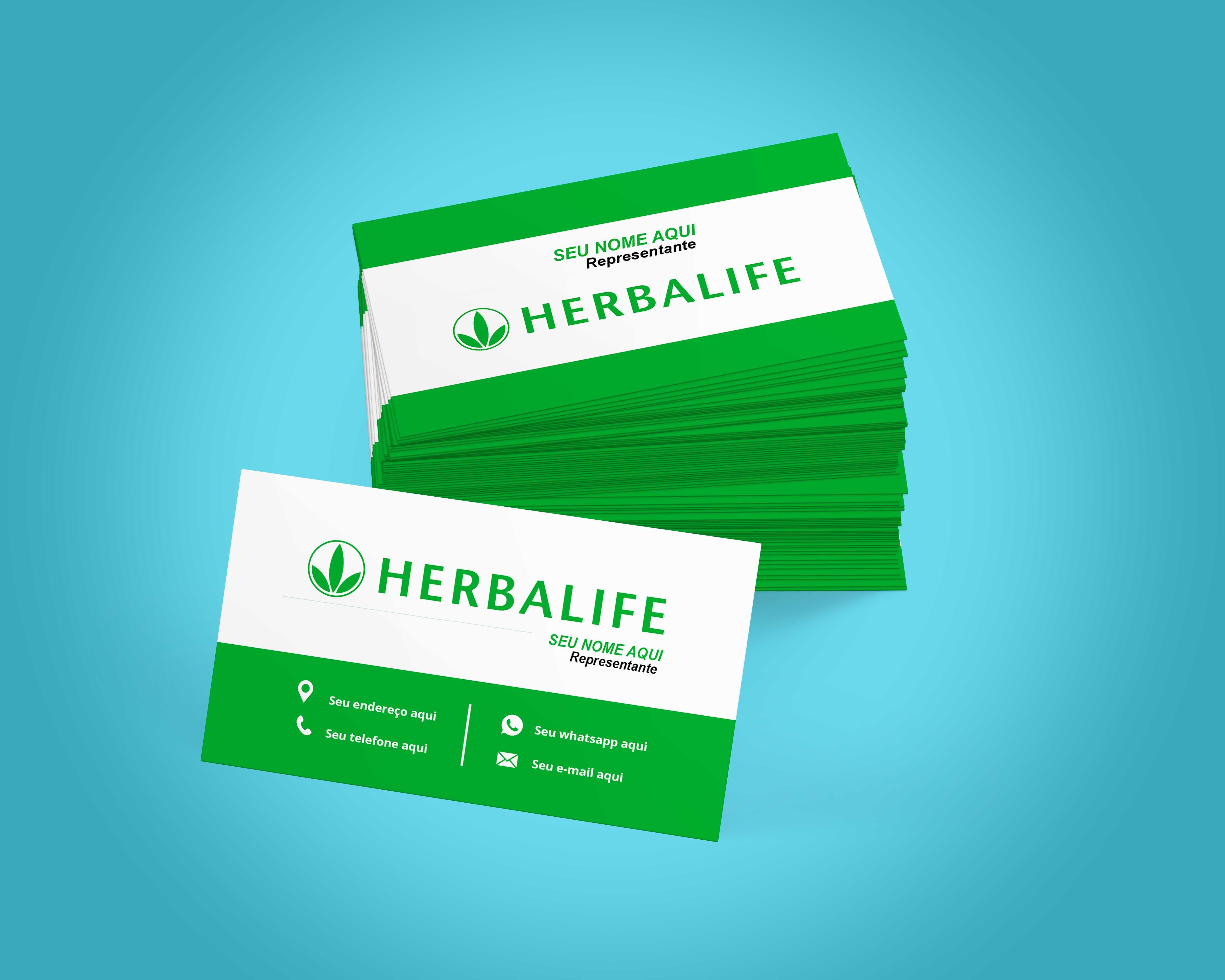 Cartao De Visita Herbalife Cartao De Visita Herbalife Modelos