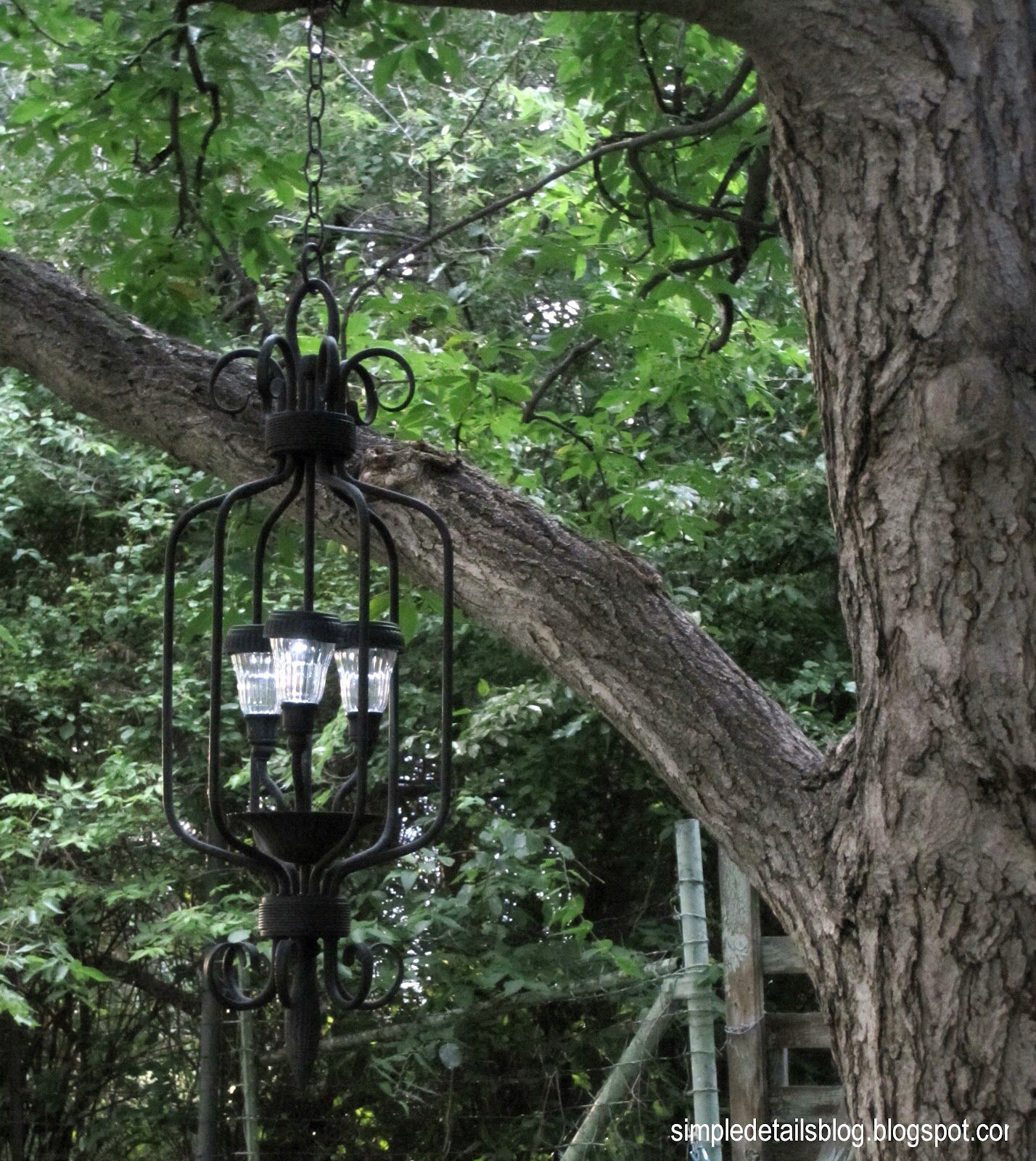 Pin by jayleah collins on do more decor pinterest chandeliers diy outdoor solar chandelier from a thrift store chandelier and solar lights arubaitofo Choice Image