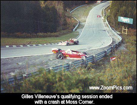Gilles Villeneuve - Moss Corner