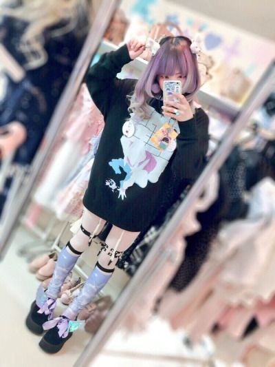 Menhera kei | Japanese fashion~ | Pastel goth, Kawaii ...