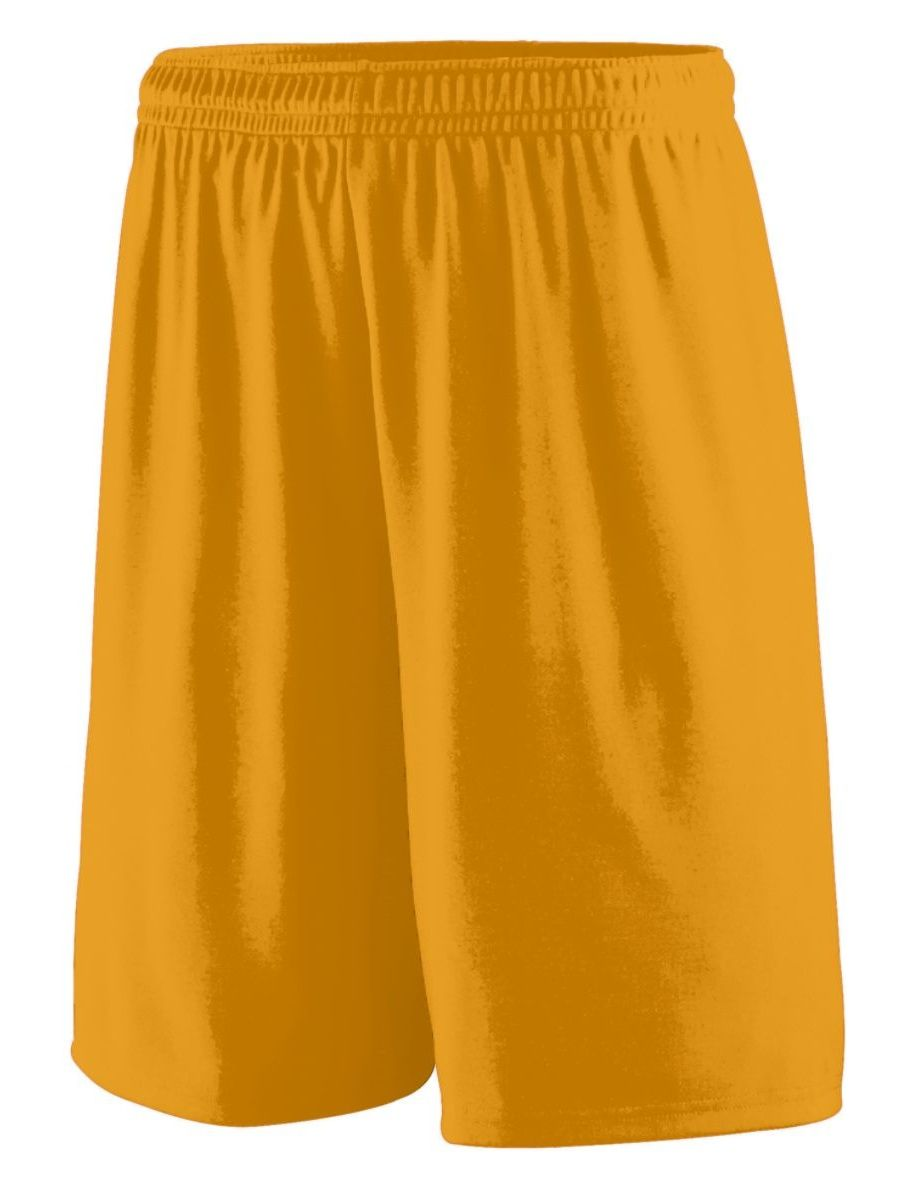 Augusta sportswear augusta training short gold l