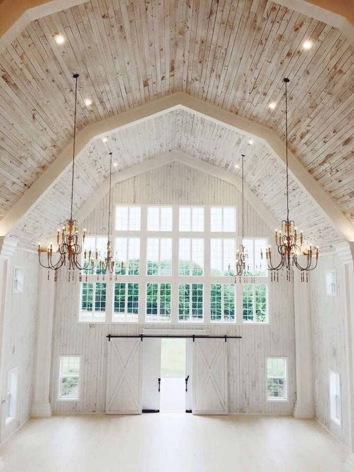 Such A Beautiful Elegant White Barn Wedding Venue Home Etc