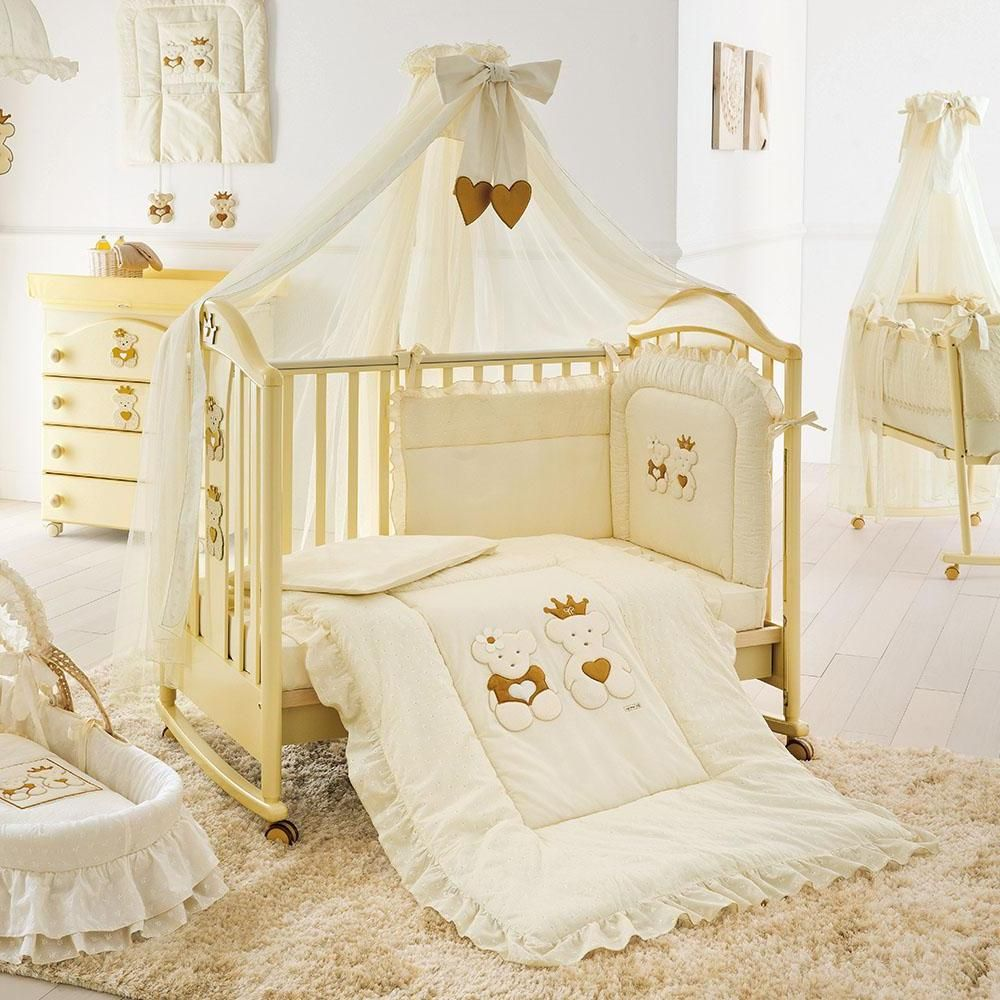 Nice Cots For Babies With Trasnparen Canopy Bed Above Cream Fur Rug Plus Wooden Drawer Desk Near White Wall Paint Also Floor Design Idea