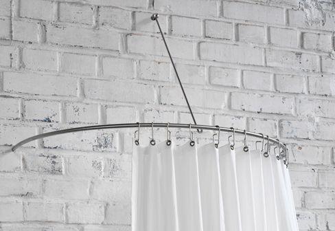 Phos Shower Curtain Semi Circle Rail Dr 140 Hw Round Shower