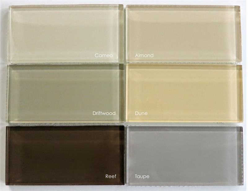 subway tile colors | lush 3x6 driftwood amount in stock 134 price