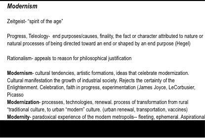Modernism Definition