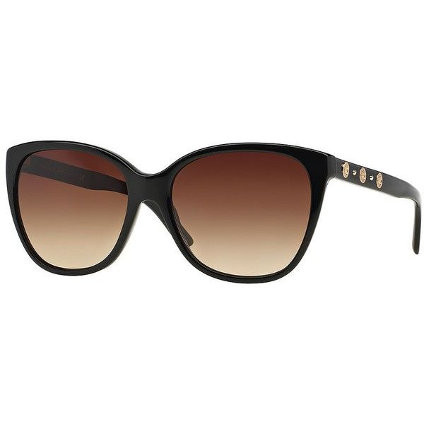 5bf1faf92c1 Versace Triple Medusa Square 57MM Sunglasses (€180) ❤ liked on Polyvore  featuring accessories