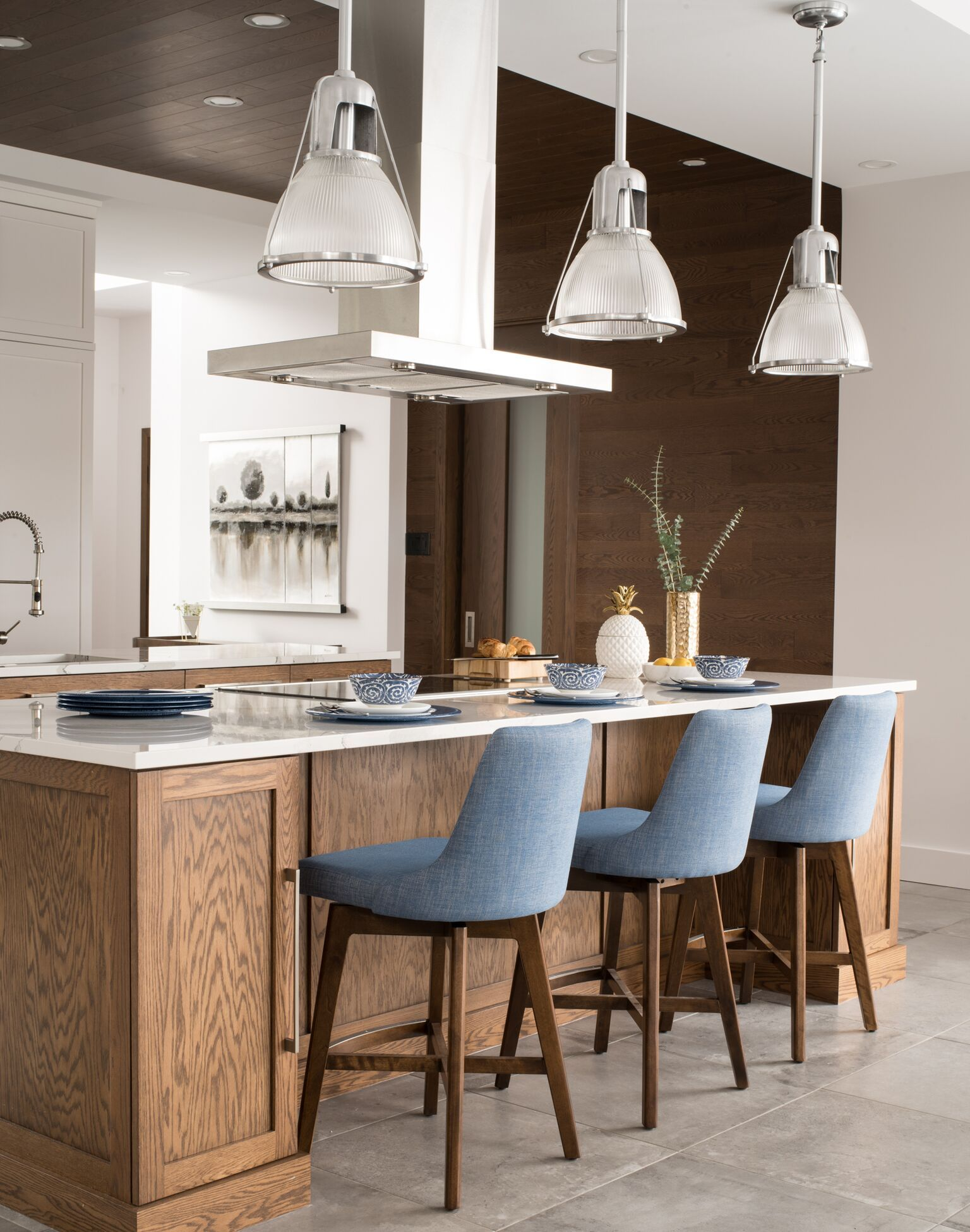 Best Modern Breakfast Counter By Canadel Downtown Collection 400 x 300
