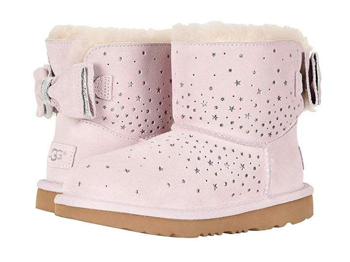 967a310619c UGG Stargirl Classic Mini II Bow (Little Kid/Big Kid) | shoes ...