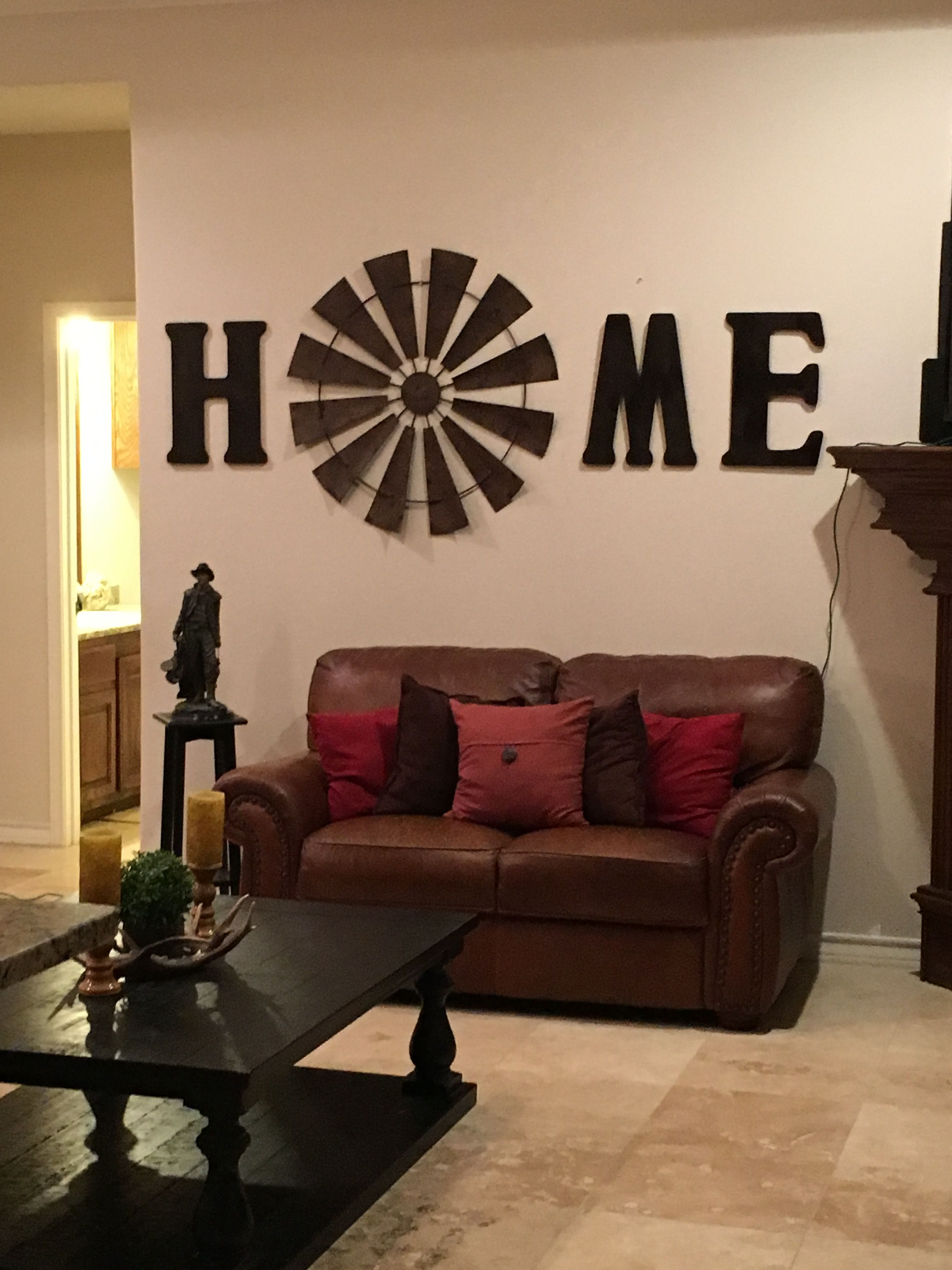 Windmill wall decor home living room