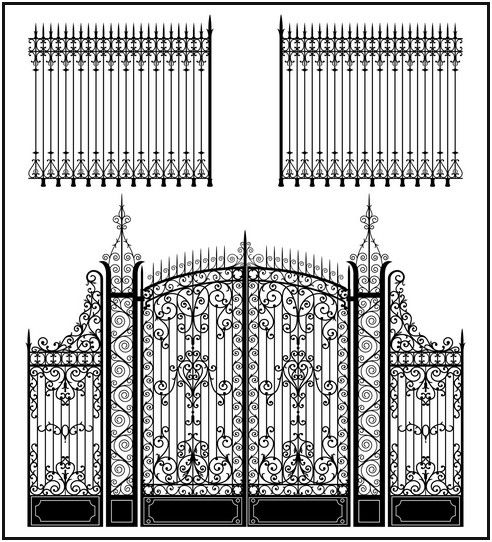 Immoderate Wrought Iron Gates For Sale Iron Gate Design Wrought Iron Gate Iron Gate