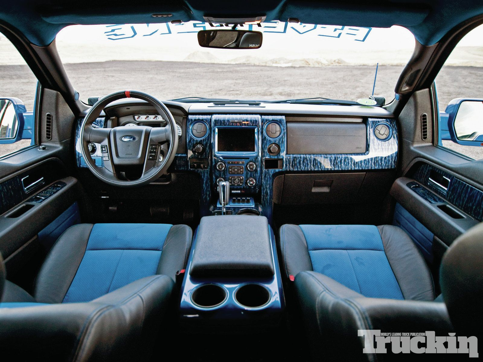 2013 ford f 150 svt raptor interior