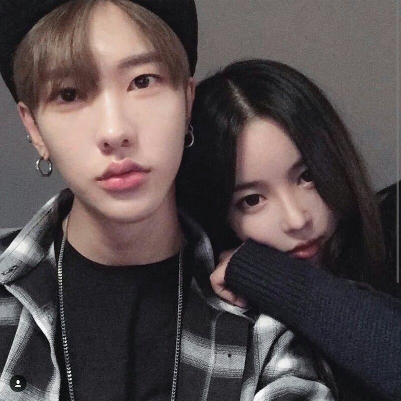 Koreanisches wirkliches Paar