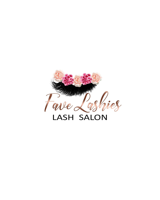 Lashes Logo Design, Eyelash Extensions Logo, Makeup Logo