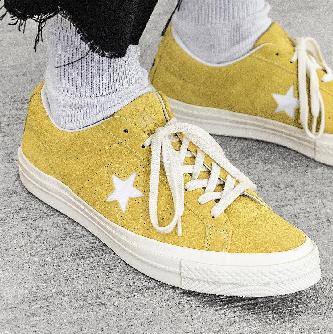 """4f9a6b191997f6 """"Missed out on the Golf le Fleur x Converse One Star by Tyler"""