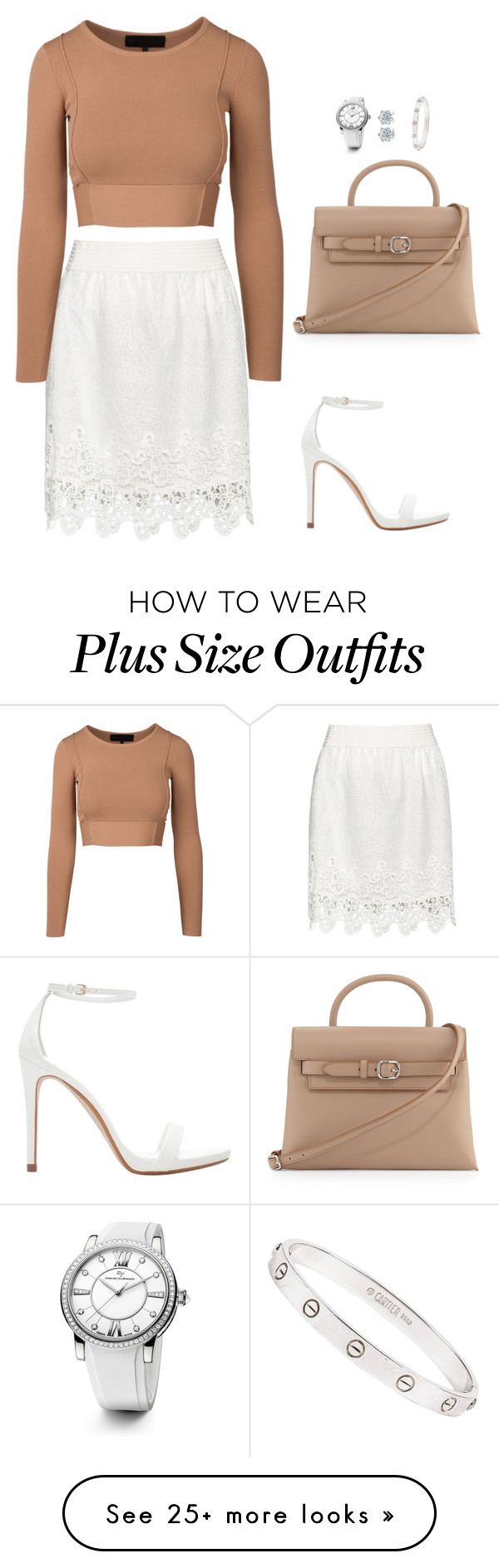 """Untitled #453"" by hayleyl22 on Polyvore featuring Zizzi, Alexander Wang, Zara, David Yurman and Cartier"