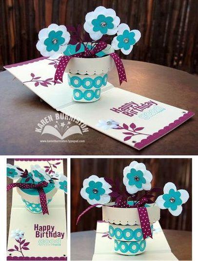 Sentimental Saturday Pop Up Cake Die Pop Up Cards Pop Up