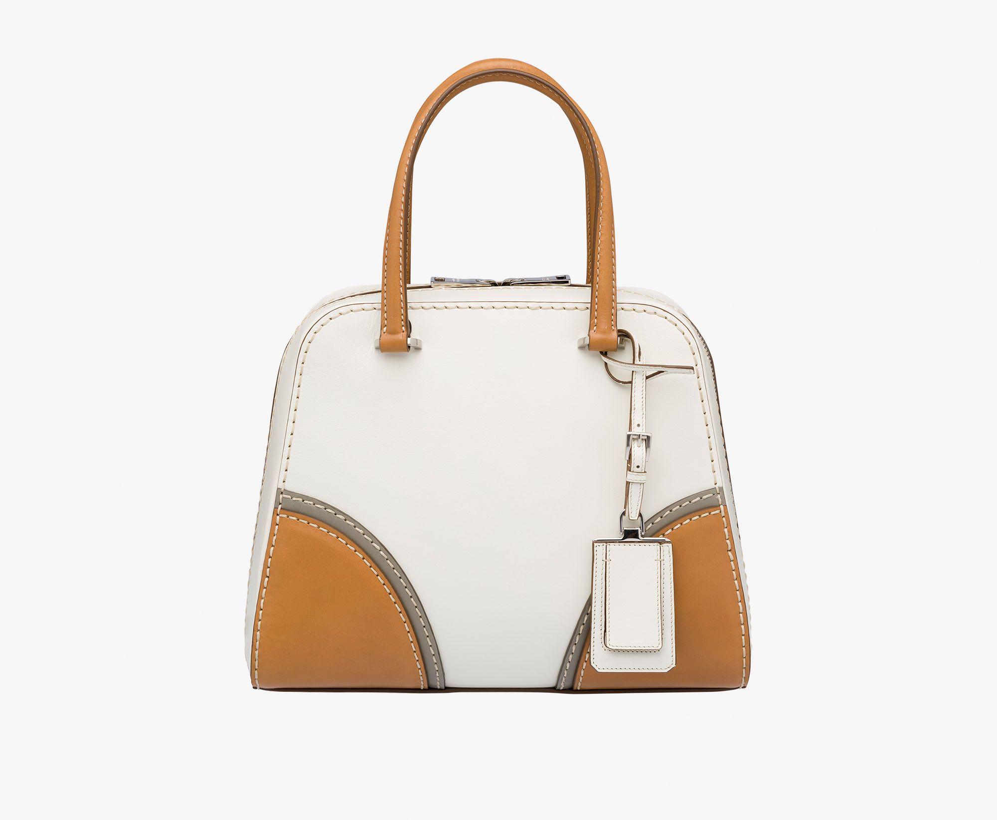 BL0924_2E14_F0J4L top handle - Handbags - Woman - eStore | Prada.com