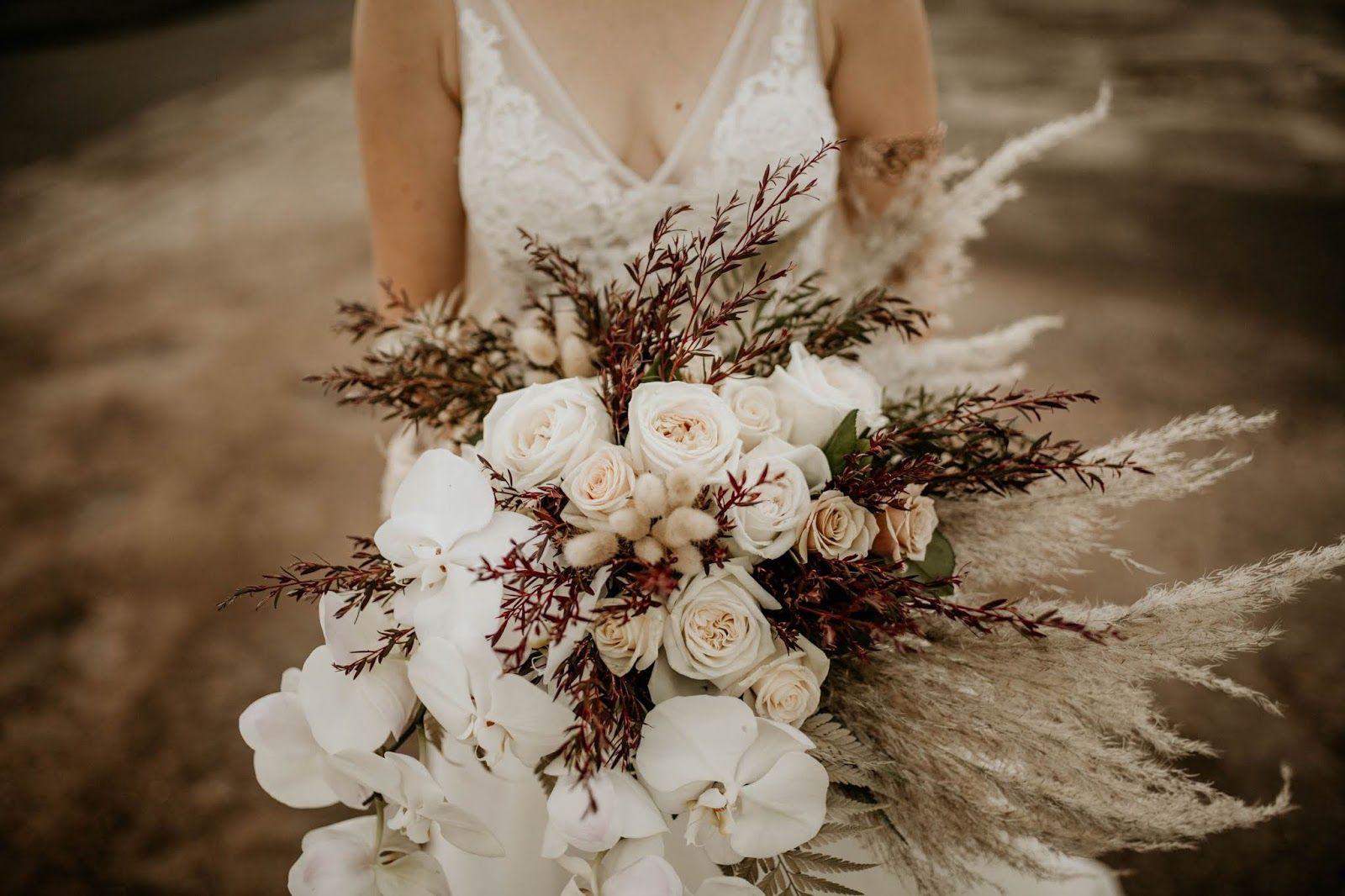 Luxe Boho Bridal Inspiration Townsville Flower Bouquet Wedding Bridal Inspiration Boho Bridal
