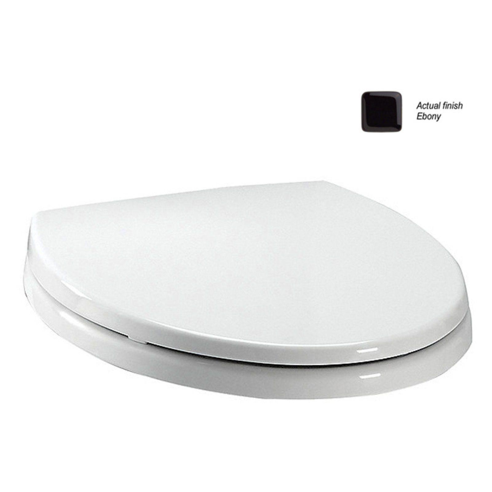 Toto Ss113 Softclose Plastic Round Toilet Seat Ebony Toilet Seat