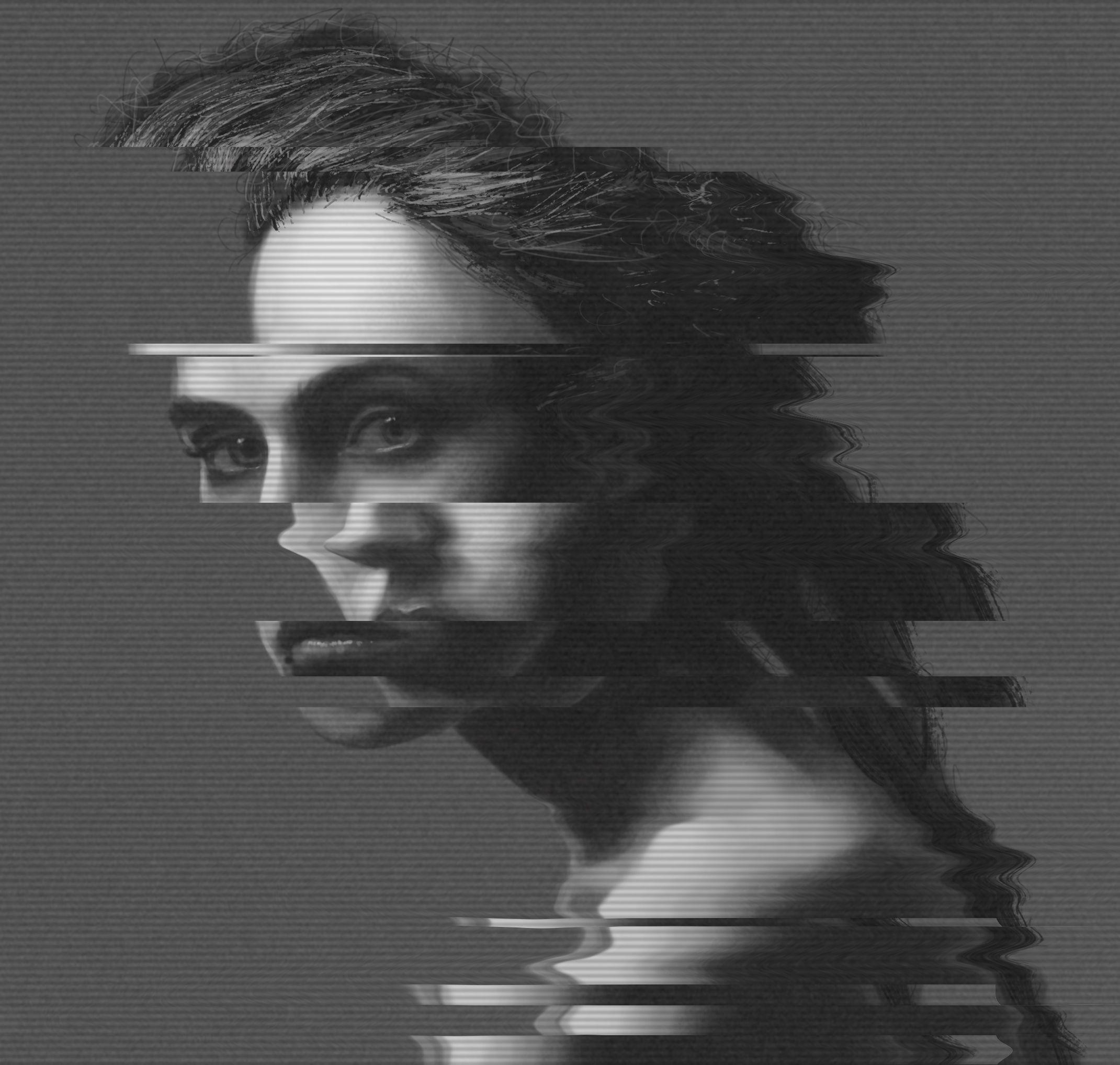 Digital Portrait Of Girl With Photoshop Distortion Effects By Yasha Puzankov Fotos De Fotografia Retoque Fotografico Fotografia Publicitaria