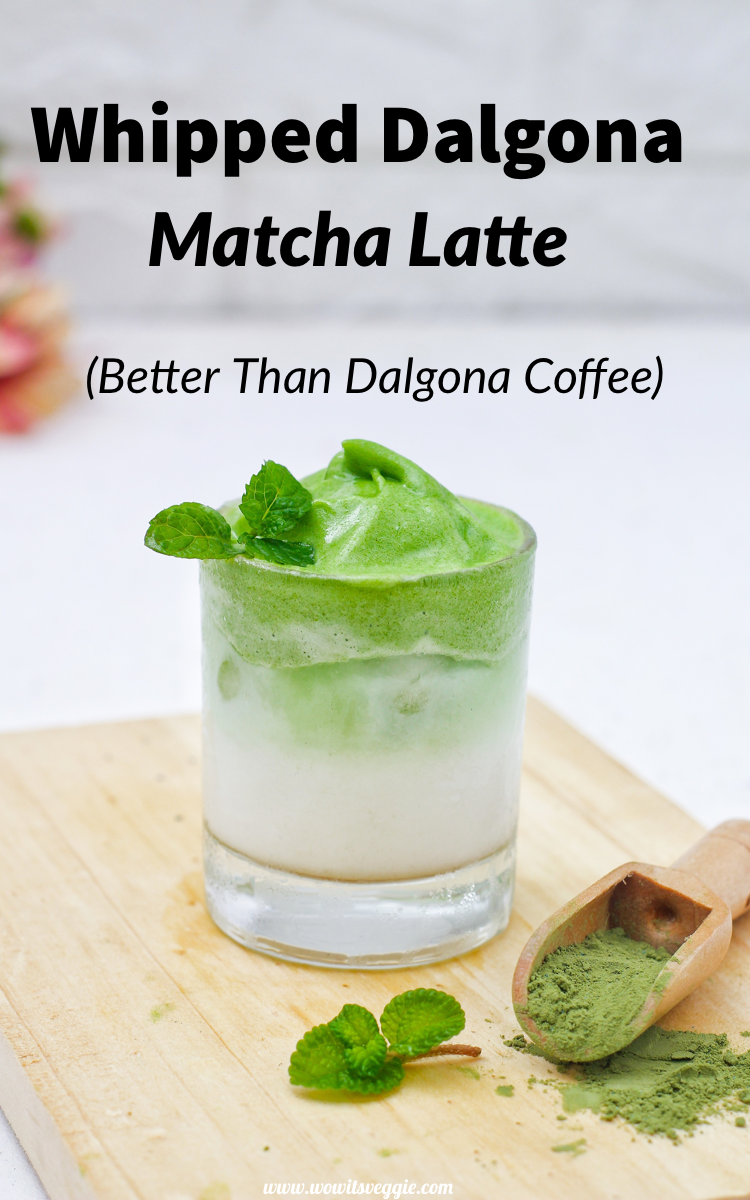 4-Ingredient Whipped Dalgona Matcha (Step-By-Step) - Wow ...